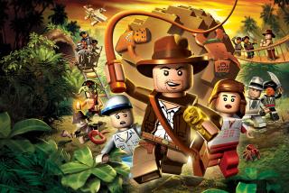 Lego Indiana Jones - Obrázkek zdarma pro 1366x768