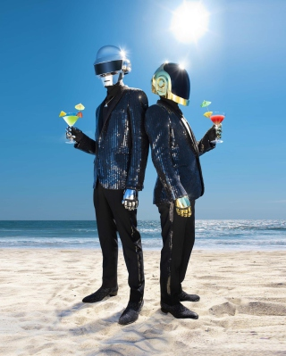 Daft Punk - Obrázkek zdarma pro Nokia C-Series