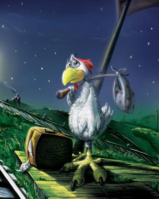 Chicken In Night - Obrázkek zdarma pro Nokia C2-00