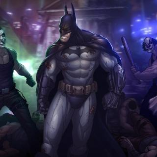 Batman, Arkham City - Obrázkek zdarma pro iPad Air