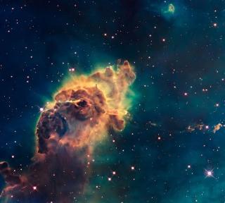 Space Galaxy - Obrázkek zdarma pro 2048x2048