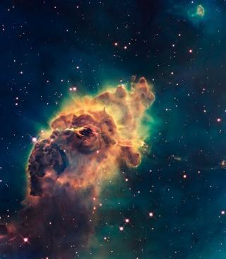 Space Galaxy - Obrázkek zdarma pro Nokia C2-02