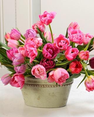 Bouquet of Tulips - Obrázkek zdarma pro Nokia C1-02