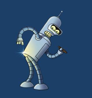 Bender Bending Rodriguez - Obrázkek zdarma pro iPad Air