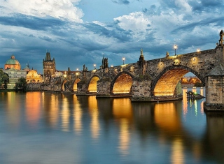 Charles Bridge - Czech Republic Wallpaper for Android, iPhone and iPad