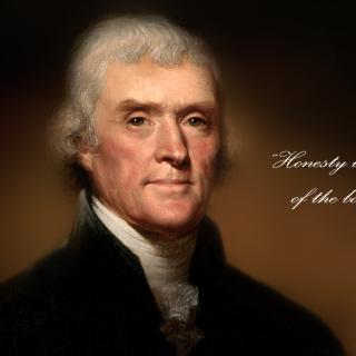 Thomas Jefferson - Obrázkek zdarma pro iPad Air