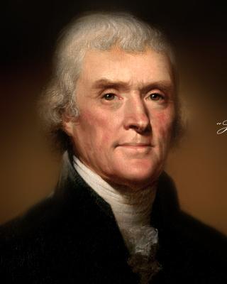 Thomas Jefferson - Obrázkek zdarma pro iPhone 4