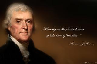 Thomas Jefferson - Obrázkek zdarma pro Widescreen Desktop PC 1280x800