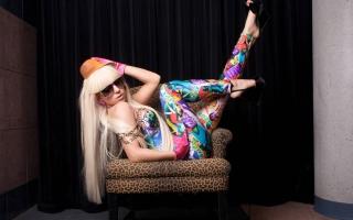 Lady Gaga - Obrázkek zdarma pro Sony Xperia E1