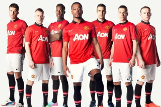 Manchester United Team 2013 Picture for Android, iPhone and iPad