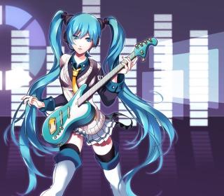 Hatsune Miku - Obrázkek zdarma pro 1024x1024