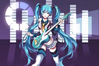 Hatsune Miku - Obrázkek zdarma pro Android 1200x1024
