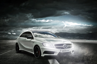 Mercedes AMG A45 Picture for Android, iPhone and iPad