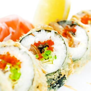 Sushi - Obrázkek zdarma pro iPad mini