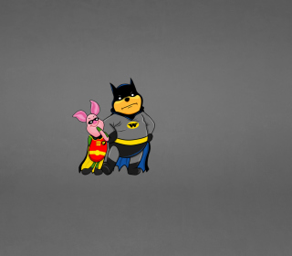 Batman And Robin - Obrázkek zdarma pro iPad mini 2