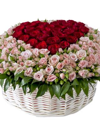 Basket of Roses from Florist - Obrázkek zdarma pro Nokia Lumia 1520