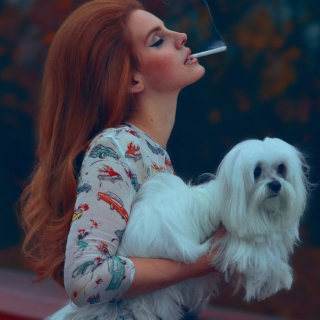 Lana Del Rey National Anthem - Obrázkek zdarma pro 1024x1024