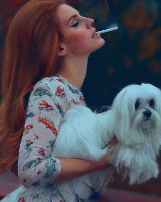 Lana Del Rey National Anthem - Obrázkek zdarma pro Nokia C1-00