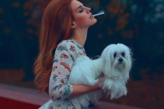 Lana Del Rey National Anthem - Obrázkek zdarma pro 1600x900