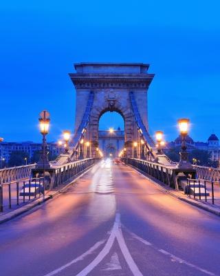 Budapest - Chain Bridge - Obrázkek zdarma pro iPhone 4
