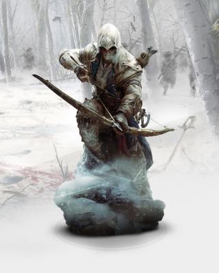 Ratonhnhaketon Assassins Creed - Obrázkek zdarma pro Nokia 300 Asha