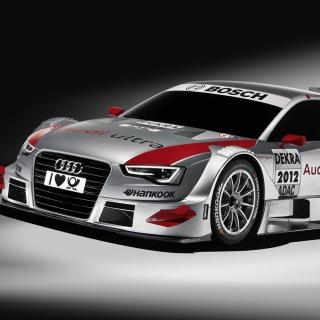 Audi A5 Sports Rally Car - Obrázkek zdarma pro iPad