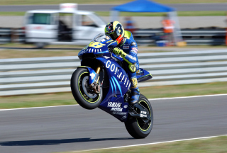 Yamaha Racing Bike - Obrázkek zdarma pro Nokia XL