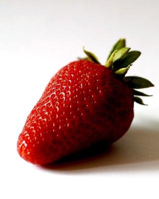 Strawberry 3D Wallpaper - Obrázkek zdarma pro Nokia Asha 202
