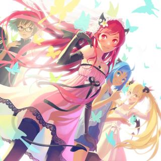 Anime Charm Girls - Obrázkek zdarma pro 320x320