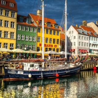 Copenhagen - Obrázkek zdarma pro 320x320