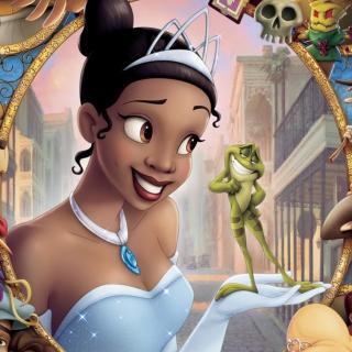 Princess And Frog - Obrázkek zdarma pro iPad mini 2