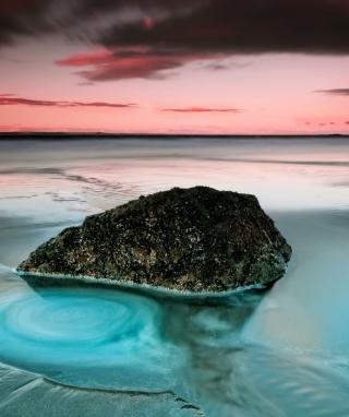 Long Exposure Beach - Obrázkek zdarma pro Nokia Asha 308