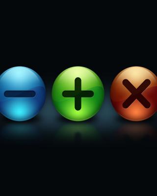 Math Formulas - Obrázkek zdarma pro 320x480