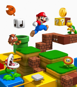 Super Mario - Obrázkek zdarma pro Nokia C3-01