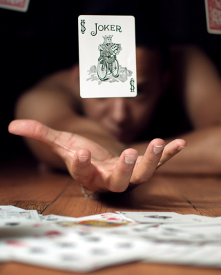 Lucky Card - Obrázkek zdarma pro Nokia C5-03