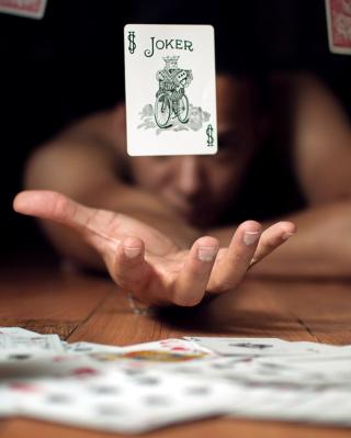 Lucky Card - Obrázkek zdarma pro iPhone 5S