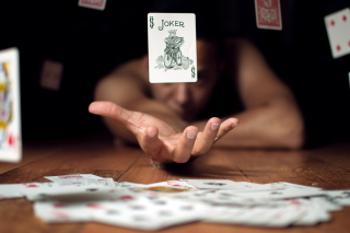 Lucky Card - Obrázkek zdarma pro LG Optimus M
