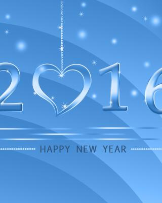 Happy New Year 2016 - Obrázkek zdarma pro Nokia Asha 203