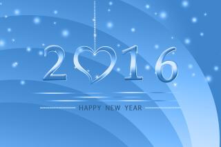 Happy New Year 2016 - Obrázkek zdarma pro Sony Xperia Z