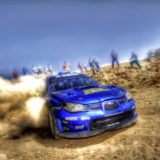 Rally Car Subaru Impreza - Obrázkek zdarma pro iPad mini 2