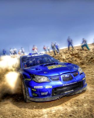 Rally Car Subaru Impreza - Obrázkek zdarma pro 132x176