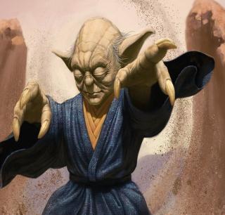 Master Yoda - Obrázkek zdarma pro iPad mini
