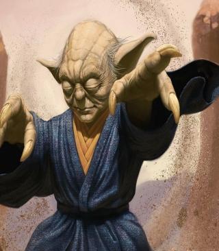 Master Yoda - Obrázkek zdarma pro Nokia Asha 203