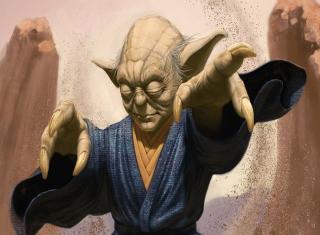 Master Yoda - Obrázkek zdarma pro 1400x1050