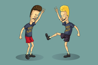 Beavis and Butt Head Background for Android, iPhone and iPad