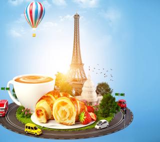 France Breakfast - Obrázkek zdarma pro iPad