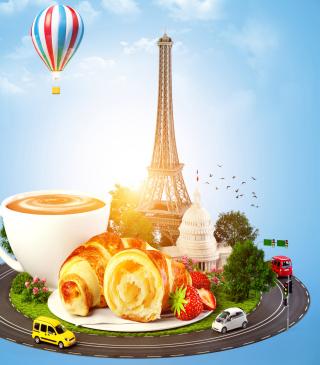 France Breakfast - Obrázkek zdarma pro Nokia C1-01