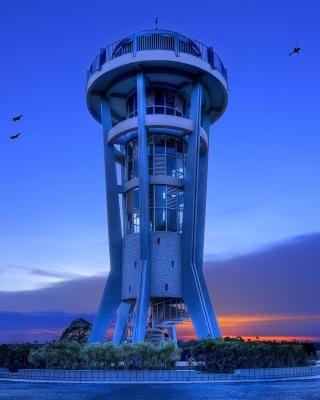 Hi Tech Tower - Obrázkek zdarma pro Nokia X1-00