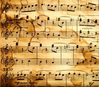Music Notes - Obrázkek zdarma pro 320x320