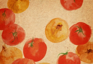 Vegetable Abstract Background for Android, iPhone and iPad